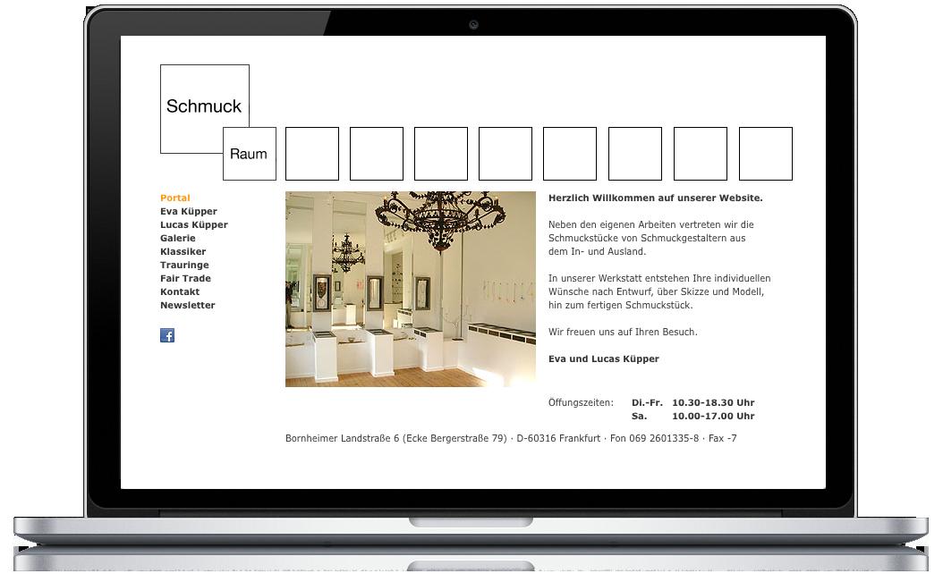 Galerie Schmuck-Raum