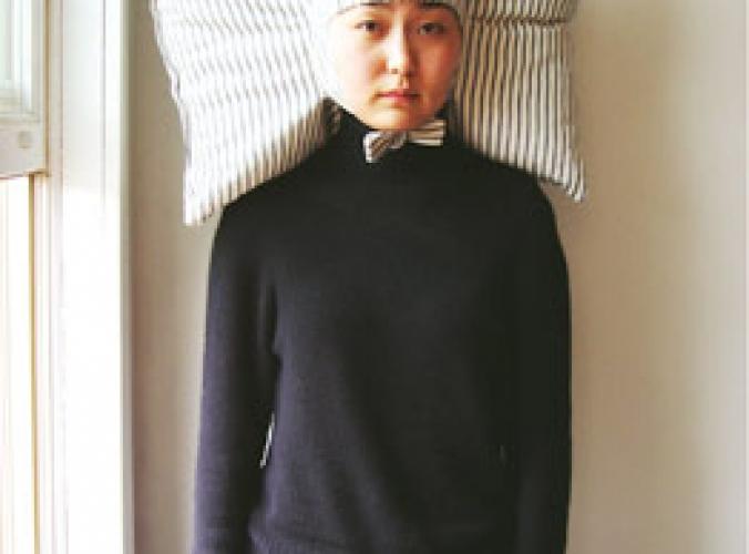 Tragbares Kopfkissen