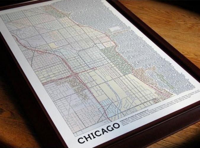 Axis – Typografische Maps